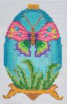 TM-09 Butterfly Egg  2 ¾ x 4 ¼ 18 Mesh TANYA MERTEL Danji Designs