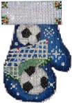 CT-1881 Soccer Mitten 2.75x3.75 18 Mesh Associated Talents