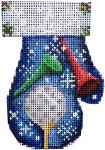 CT-1880 Golf Mitten 2.75x3.75 18 Mesh Associated Talents