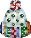CT-1351 Jolly Dots Mini Hat 2x2.5 18 Mesh Associated Talents
