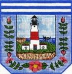 SWB105 Lighthouse Purse 7X7 18 Mesh Cooper Oaks Designs