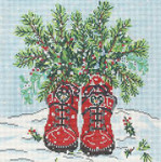 SWB1097 Winter Boots 8X8 18 Mesh Cooper Oaks Designs