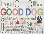 CC726 Good Dog 11.5X11.5 13 Mesh Cooper Oaks Designsn