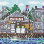SWB1090 Lobster House 10X10 18 Mesh Cooper Oaks Designs