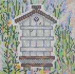 SWB145C Bee Skep 4X4 18 Mesh Cooper Oaks Designs