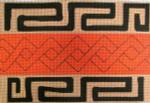 Kuba Pillow #2 Needlepoint-Unique New Zealand Designs Ethnic Needlepoint 70626