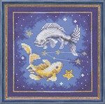 "PN7991 Lanarte Kit Pisces 7"" x 7""; Evenweave; 27ct"