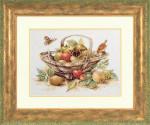 "PN7960 Lanarte Kit Summerfruit by Marjolein Bastin 16"" x 12""; Evenweave; 27ct"