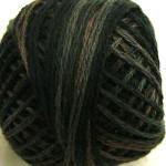 Valdani Pearl Cotton Size 12 Ball Black Olive - 12VA540
