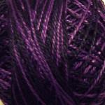 Valdani Pearl Cotton Size 12 Ball Black & Indigo - 12VAM92