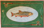"JKNA-­‐017 Brook Trout  19"" x 12""  18  Mesh Judy Keenan NeedleArts"