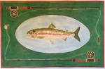"""JKNA-‐018 Rainbow Trout 19"""" x 12"""" 18  Mesh Judy Keenan NeedleArts"""