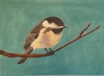"""JKNA-‐022 Chickadee 8 7"""" x 5""""  18  Mesh Judy Keenan NeedleArts"""