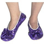 Purple Passion Size Medium-Shoe Size 7/8 Snoozie