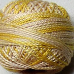 Valdani Pearl Cotton Size 12 Ball Blurry Vanilla - 12VAM67