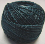 Valdani Pearl Cotton Size 12 Ball Blackened Teal - 12VAH203