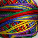 Valdani Pearl Cotton Size 12 Ball Brights - 12VAM45