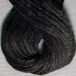 Valdani Floss 6Ply Skein Black - VAS121