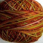 Valdani Pearl Cotton Size 12 Ball Autumn - 12VAM37