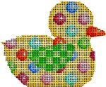 BD-105 Coin Dot Duckie  3.5x2.75 18 Mesh Associated Talents