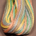 Valdani Floss 6Ply Skein Baby Soft Pastel - VA12M38