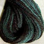 Valdani Floss 6Ply Skein Blue Blackbird - VA12572