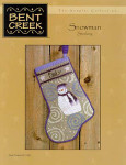 04-2284 Snowman Stocking by Bent Creek