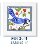 "MN-2041 Blue Jay - Female 18 Mesh 8"" CBK Bettieray Designs"