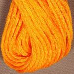 Valdani Floss 6Ply Skein Solid Orange Bright - VAS12204
