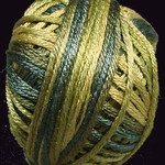 Valdani Silk Floss Olive Green - VAK10P2