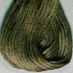 Valdani Floss 6Ply Skein Solid Rich Rich Olive Green - VAS12199