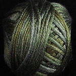 Valdani Silk Floss Green Black - VAK10H211