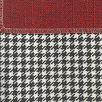 601L Large Carry All Hug Me 78 Houndstooth (Swatch) shown in #80 Spa Houndstooth