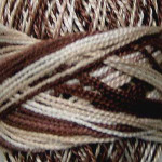 Valdani Pearl Cotton Size 12 Ball Cappucino - 12VAM