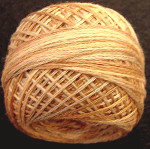 Valdani Pearl Cotton Size 12 Ball Faded Marygold - 12VAJP7