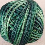 Valdani Pearl Cotton Size 12 Ball Caribbean Blue - 12VA550