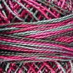 Valdani Pearl Cotton Size 12 Ball Fuchsia Garden - 12VAM72