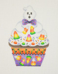 "BB 0529 Cupcake / Ghost / Candy Corn 5"" x 3.25""	18 Mesh Burnett And Bradley"