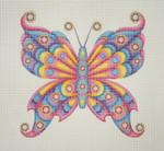 """BB 0681 Butterfly 6.75"""" x 7""""18 Mesh Burnett And Bradley"""