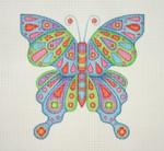 """BB 0683 Butterfly 6.75"""" x 7""""  18 Mesh Burnett And Bradley"""