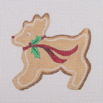 "BB 0716 Gingerbread / Cookie / Reindeer 3.25"" x 3.25"" 18 Mesh Burnett And Bradley"