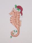 "BB 0788By the Sea / Seahorse / Candy Cane / Santa Hat 3 1/2""18  Mesh Burnett And Bradley"