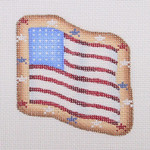"BB 1101 Flag 3.25"" x 3.25"" 18 Mesh  Burnett And Bradley"