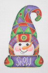 "BB 1279 Snowman / Hook Hat / Sign-SNOW 5""	18 Mesh  Burnett And Bradley"