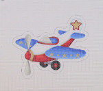 "BB 1461 Airplane 4.25"" x 5"" 18  Mesh  Burnett And Bradley"