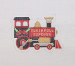 "BB 1462 North Pole Express 3.5"" x 5"" 18  Mesh  Burnett And Bradley"