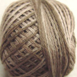 Valdani Floss 5VAP11 Pearl Cotton Size 5 Balls Aged White-Medium - 5VAP3