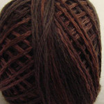 Valdani Floss 5VAP11 Pearl Cotton Size 5 Ball Brown - 5VAP12