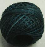 Valdani Floss 5VAP11 Pearl Cotton Size 5 Balls Blackened Teal - 5VAH203