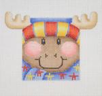 """BB 1823 Mini-Moose Face 2.75"""" x 2.5"""" 18 Mesh Burnett And Bradley"""